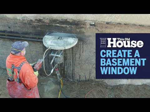 How to Create a Basement Window | This Old House